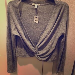 Express Gray sweater-M